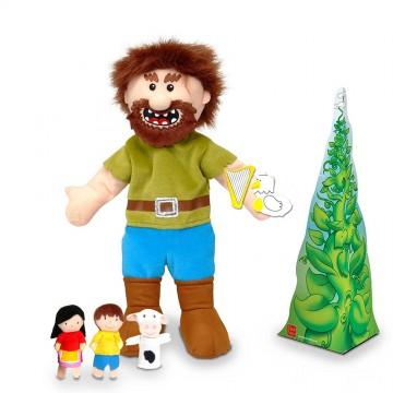 Jack & The Beanstalk Puppet Set