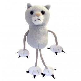 Cat Grey Finger Puppet