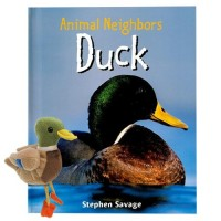 Animal Neighbors - Duck - Book with puppets