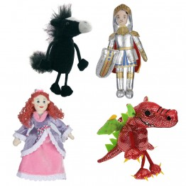 A Knight to the Rescue Finger Puppet Set