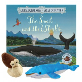 Snail in the Whale Book with Puppets