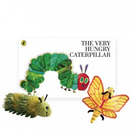 The Very Hungry Caterpillar Book with Finger Puppets