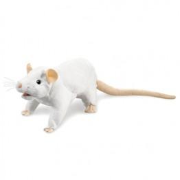White Rat Hand Puppet