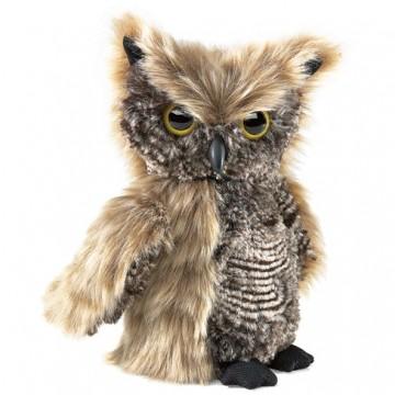 Screech Owl Hand Puppet