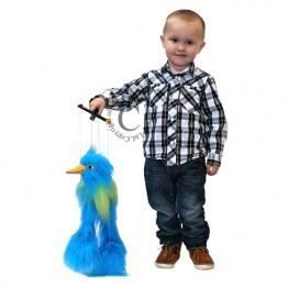 Little Blue Bird Marionette
