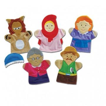 Little Red Riding Hood Hand Puppets Set