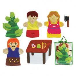 Jack & The Beanstalk Hand Puppet Set