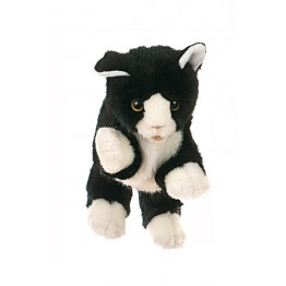 Black & White Cat Glove Puppet