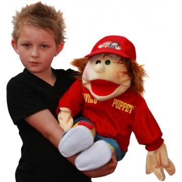 Hand Puppet Boy Lutzi