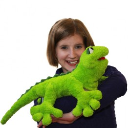 Gecko Giovanni Hand Puppet