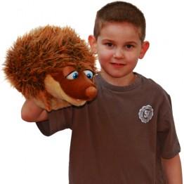 Soren The Hand Puppet Hedgehog