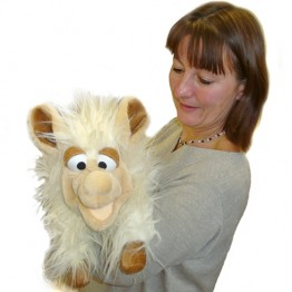 Lucy the Sheep Hand Puppet