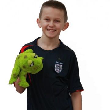 Little Rolf Frog Hand Puppet