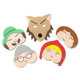 Little Red Riding Hood Story Telling Play Masks