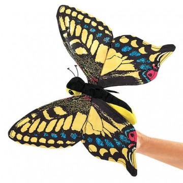 Swallowtail Butterfly Finger Puppet