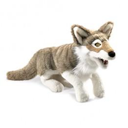 Grey Wolf Hand Puppet