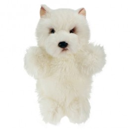 West Highland White Terrier Hand Puppet