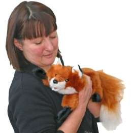 Red Fox Hand Puppet (small)