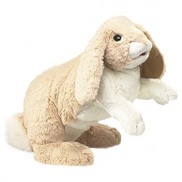 Floppy Bunny Rabbit Hand Puppet
