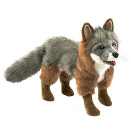 Gray Fox Hand Puppet