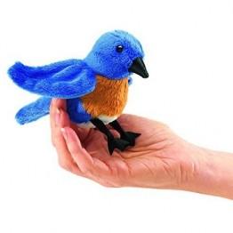 Mini Bluebird Finger Puppet