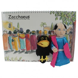 Zacchaeus Story Book with Puppets