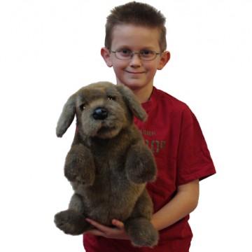 Dog (Sitting) Hand Puppet