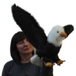Eagle Hand Puppet