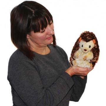 Hedgehog Glove Puppet