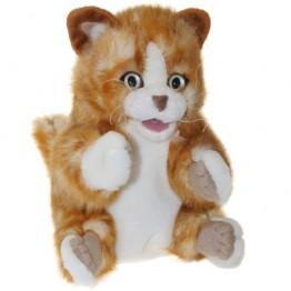 Orange Tabby Kitten Glove Puppet