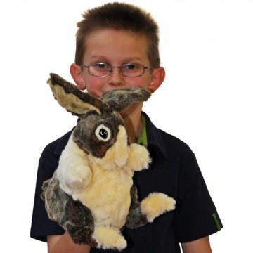 Dutch Rabbit Hand Puppet