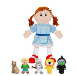Wizard of Oz Hand & Finger Puppet Set
