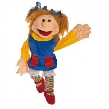Hand Puppet Girl Lotta