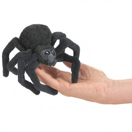 Mini Spider Finger Puppet