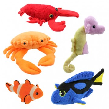 Under the Sea Finger Puppet Set (1)