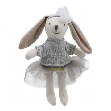 Rabbit - Girl - Grey - Wilberry Collectables
