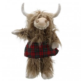 Highland Cow - Wilberry Dressed Animals