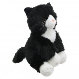 Black and White Cat - Wilberry Favourites Soft Toy