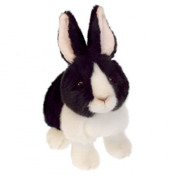 Black and White Dutch Rabbit - Wilberry Bunnies Soft Toy