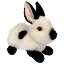 White and Black Rabbit - Wilberry Bunnies Soft Toy