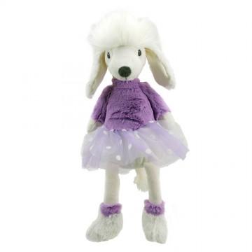 Poodle - Purple - Wilberry Dancers