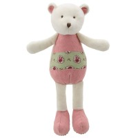 Bear - Pink-Green - Wilberry Friends