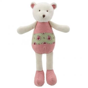 Bear - Pink-Green - Wilberry Friends