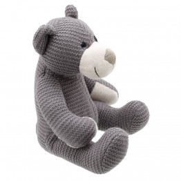 Bear - Grey Medium - Wilberry Knitted
