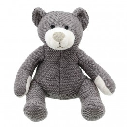 Bear - Grey Small - Wilberry Knitted
