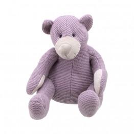 Bear - Purple Medium - Wilberry Knitted