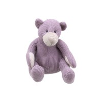 Bear - Purple Small - Wilberry Knitted