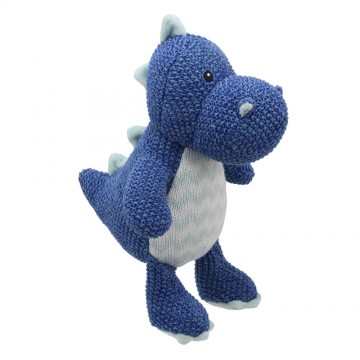 Dragon (Blue) - Wilberry Knitted