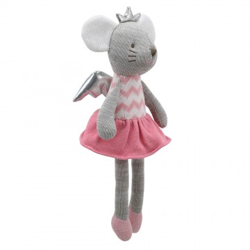 Mouse (with wings) - Wilberry Knitted