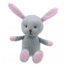Rabbit - Grey - Wilberry Knitted